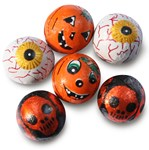 Halloween chocolate balls