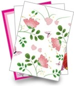 Mothers day greeting cards group