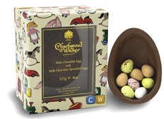 Childrens Milk Chocolate Easter Egg with Mini Eggs
