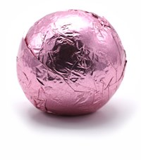 Pink Champagne Truffle