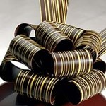 stripe chocolate transfer sheets