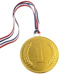 75mm chocolate medal