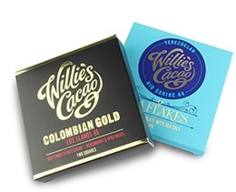Willies chocolate bars