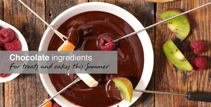 chocolate ingredients for Summer
