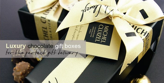Michel Cluizel chocolate gift boxes