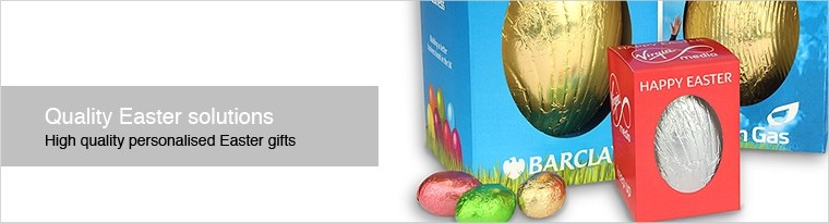 Personalised Easter chocolates header