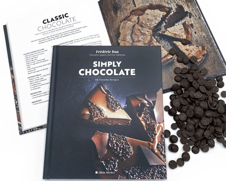 Valrhona Simply Chocolate, recipe book competition prize