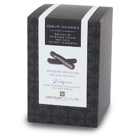 superior dark chocolate gingers gift cube