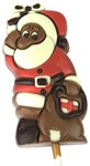 Santa chocolate lollipop