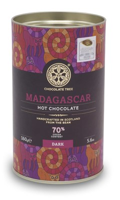 Chocolate Tree, 70% Madagascar hot chocolate