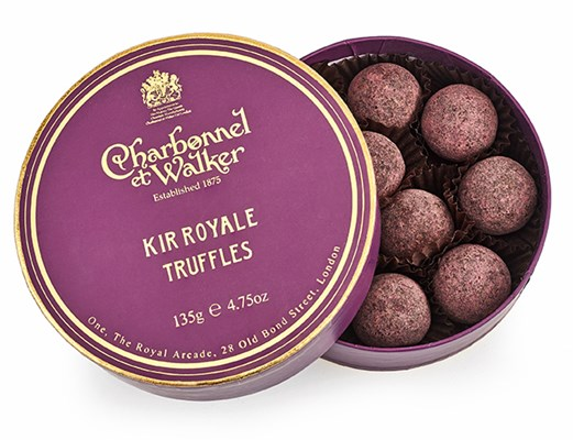Charbonnel et Walker, Kir Royale chocolate truffles gift box