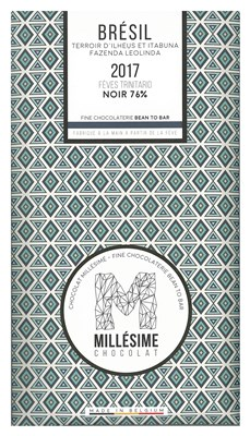 Millesime, Bresil 2017, 72% dark chocolate bar