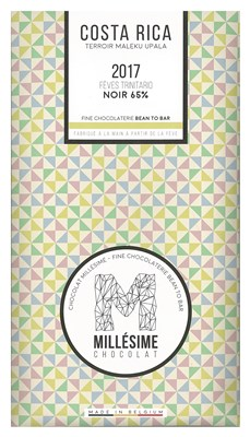 Millesime, Costa Rica 2017, 65% dark chocolate bar