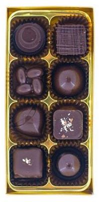 Kennard's, Vegan 8 assorted chocolate box