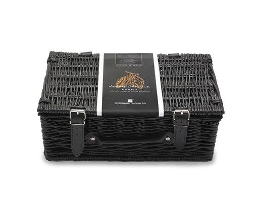 Small Empty Wicker Hamper