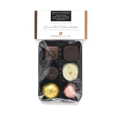 Superior Selection 6 chocolate gift pack