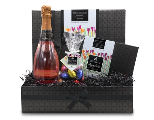 Easter Chocolate and Rose Gift Hamper