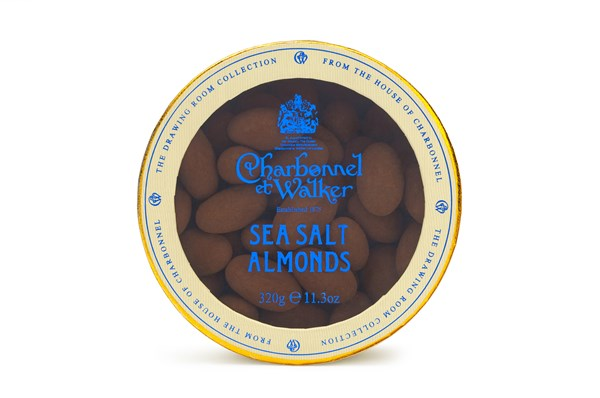 Charbonnel et Walker, Sea Salted Milk Chocolate Almonds