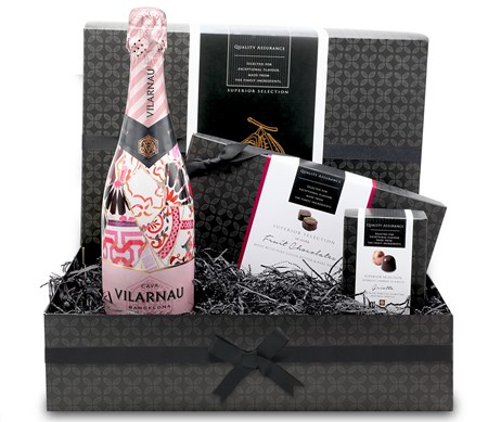 Summer Fruits, Chocolate & Rose Cava Gift Hamper