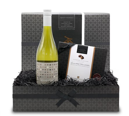 Chocolate and White Wine Gift Hamper