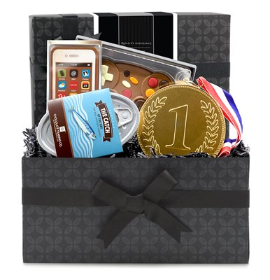 Fun & Funky Milk Chocolate Novelty Mini Hamper