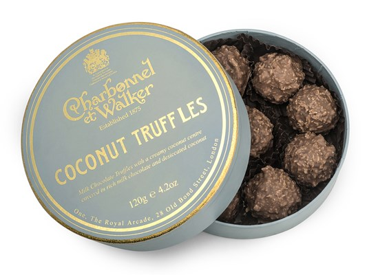 Charbonnel et Walker, Coconut chocolate truffles