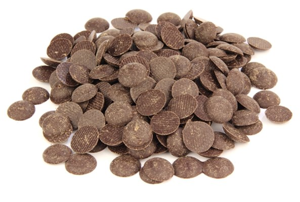 Dark chocolate chips 53% cocoa