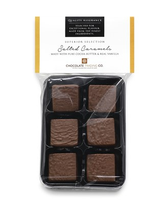Superior Selection, Salted Caramels, Chocolate Gift Pack