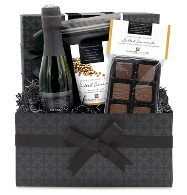 Superior Selection Prosecco & Salted Caramels Chocolate Hamper