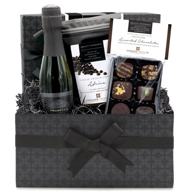 Superior Selection, Dark Chocolate & Prosecco Mini Hamper