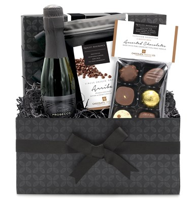 Superior Selection, Milk Chocolate & Prosecco Mini Hamper