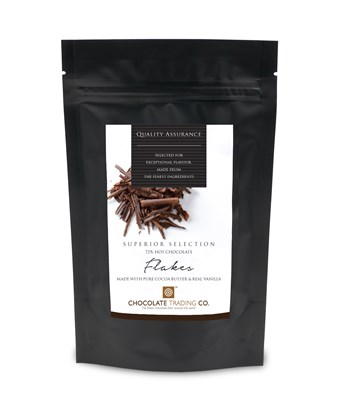 Superior Selection Drinking Chocolate Flakes pouch