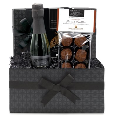 Prosecco and Chocolate Truffles Mini Hamper
