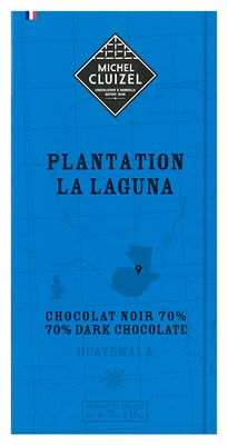 Michel Cluizel, La Laguna, 70% dark chocolate bar