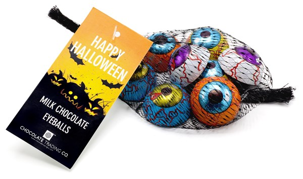 Halloween Milk Chocolate Eyeballs Gift Net