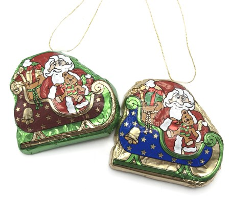 Christmas Sleigh, tree decorations