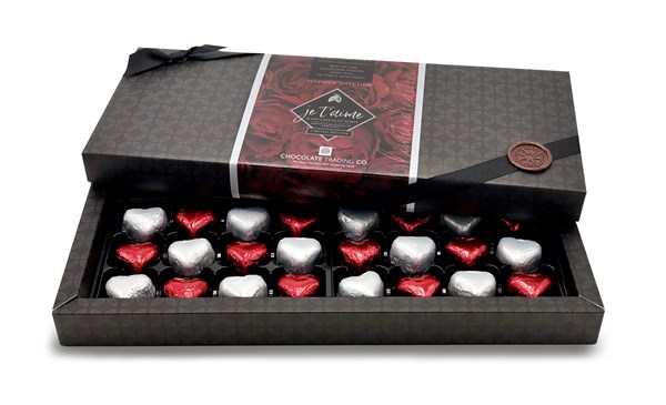 Valentine Limited Edition Hearts Box 24