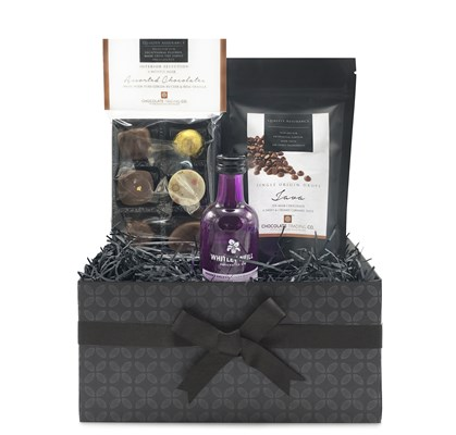 Rhubarb Gin & Chocolate Mini Hamper