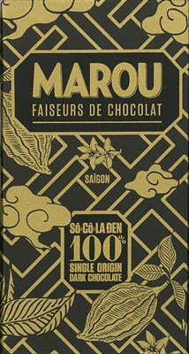 Marou, So Co La Den, 100% dark chocolate bar