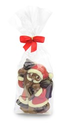 Chocolate Santa With Bell