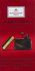 niederegger marzipan dark chocolate bar