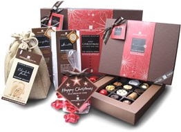 small christmas chocolate hamper