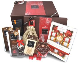 Christmas chocolate hamper (large)