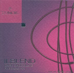 Domori, Il Blend 70% dark chocolate bar