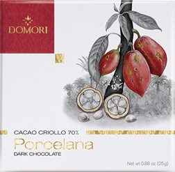 Domori Porcelana 70% dark chocolate bar