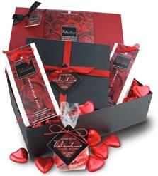 Valentines chocolate hamper