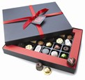 Valentines chocolate gift box