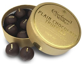 charbonnel et walker dark chocolate truffles box