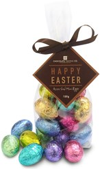 mini chocolate easter eggs gift bag