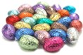 Foiled mini chocolate easter eggs bulk bag